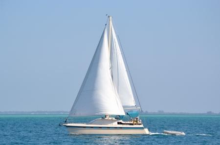 sailboat: sailboat on the water