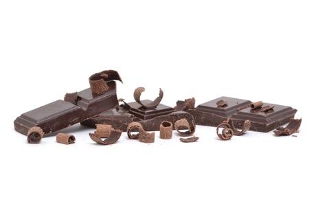 candy bar: Fondo de piezas de chocolate blanco Foto de archivo