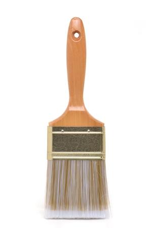 paintbrush on a white background Stok Fotoğraf
