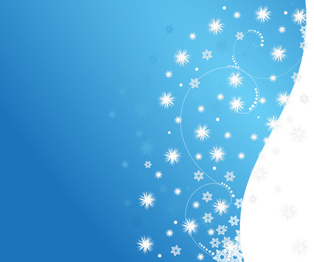 abstract snowfall winter background