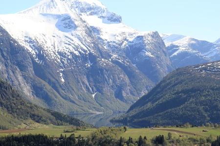 Norwegian Countryside Stock Photo - 9510661