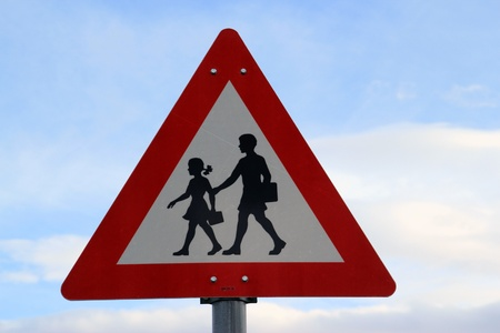 Norwegian road sign photo