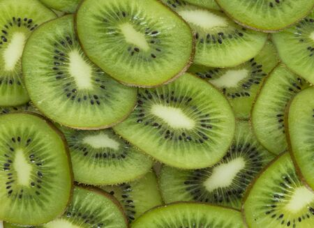 The texture of the fruit cut kiwi. Reklamní fotografie