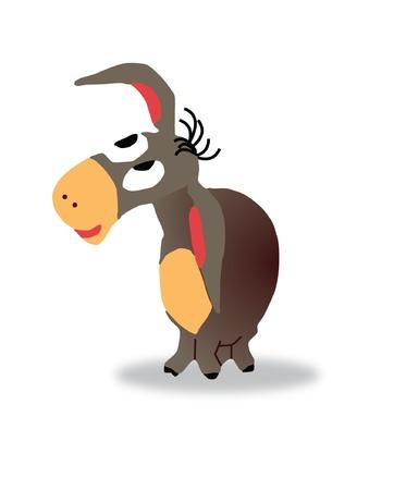 Cartoon Donkey Eeyore