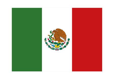 drapeau mexicain: Mexique vecteur drapeau