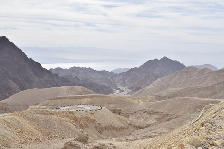 negev: View of Negev mountains