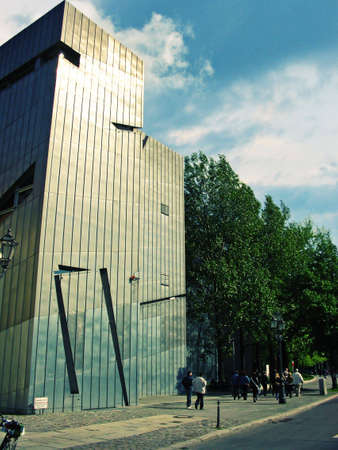 The Jewish museum in Berlin was designed by Daniel Libeskind and opened in 2001 photo