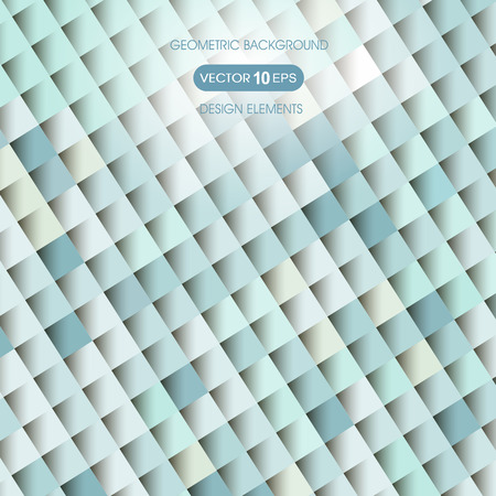 compiled: Abstract background of geometric shapes diamond