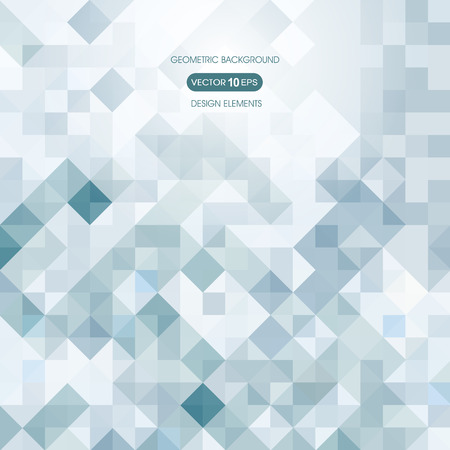 compiled: Abstract background of squares with elements of geometry Illustration