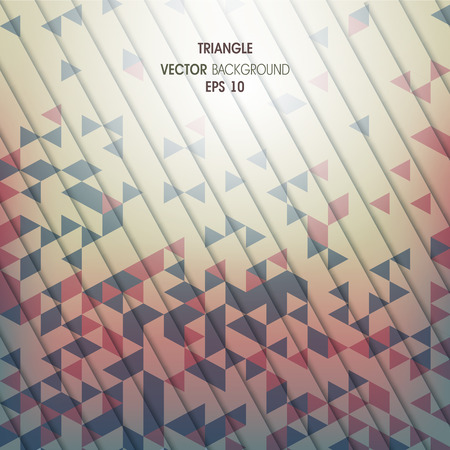 compiled: Abstract vector background with geometric elements of the triang