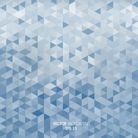 inflame: Geometric abstract background made of triangles