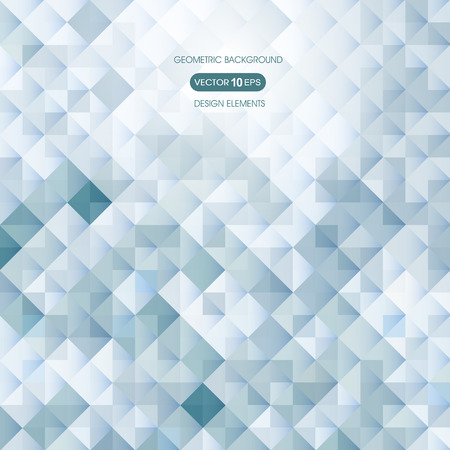 compiled: Abstract background with geometric elements, square Illustration