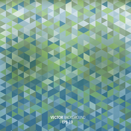 compiled: Geometric background of triangles Illustration