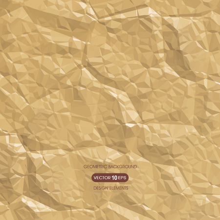 compiled: Abstract background of crumpled paper Illustration