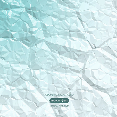 compiled: Abstract geometric background of crumpled paper