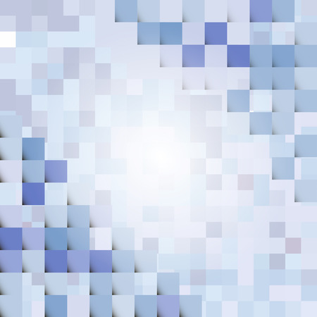 compiled: Abstract geometric vector with elements Stock Photo