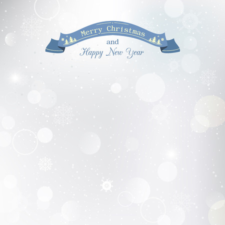 Illustration with transparency effect, Christmas snow background. Illustration