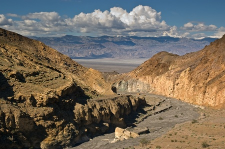 The view of Death Valley from Mosaic Canyon. Stock Photo - 8914618