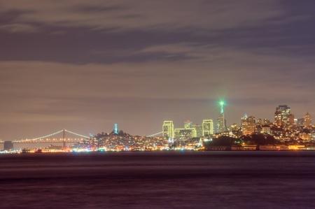 San Francisco Night Skyline photo