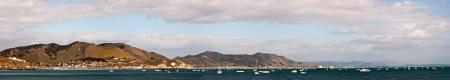 A panorama of the San Luis Obispo Bay, California