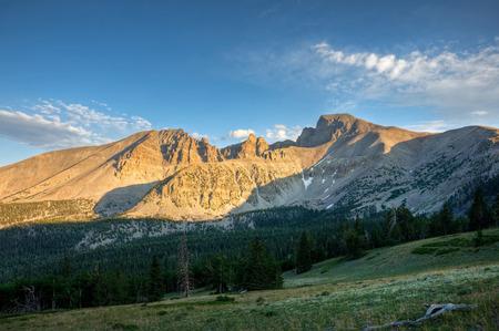 Wheeler Peak stands over Great Basin National Park, Nevada  Reklamní fotografie