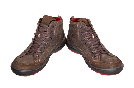 Excellent brown shoes for any weather  Aggressive style will attract the attention of others  photo