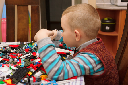 multi age: boy sitting at the table and what that creates a complex structure
