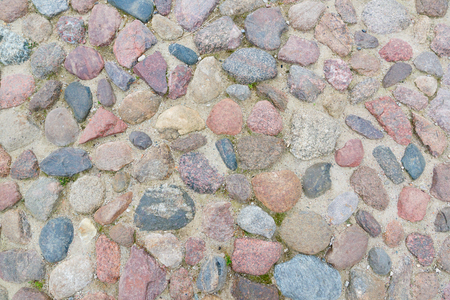 stones are arranged in a chaotic order and a texture