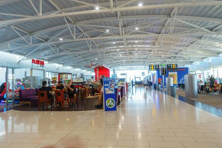 Larnaca, Cyprus - July 30. 2019: Larnaca International Airport is Cyprus main international gateway Редакционное