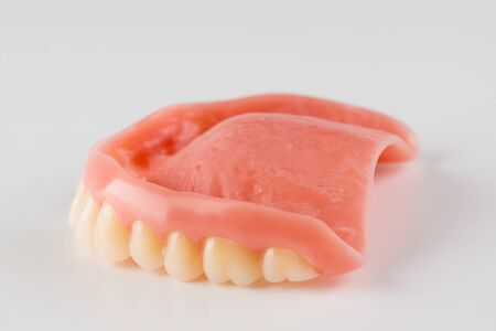 large image of a modern denture nylone on a white background