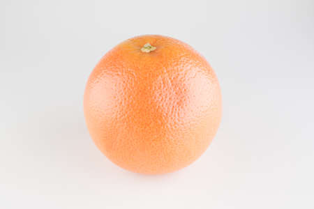 bright citrus fruits isolated on white background