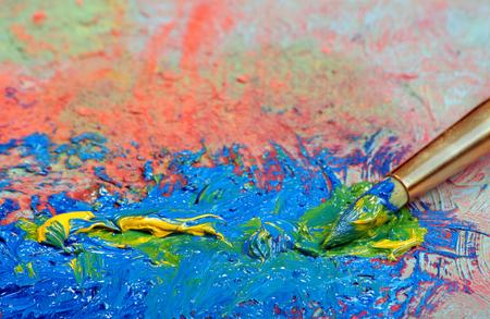 brush strokes and brush strokes Imagens