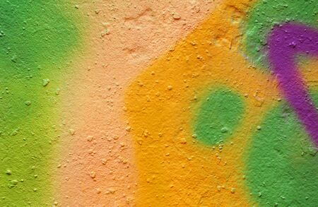 colorful painted plastered concrete wall. abstract colorful texture background.