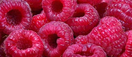 ripe raspberries texture background. summer healthy berries. selective focus. natural vitamins Stock fotó