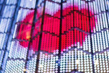 Blur Lights bokeh Background in valentine day