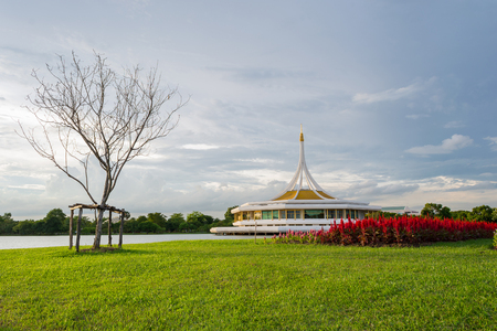ix: Suan Luang RAMA IX public park, Bangkok, Thailand Stock Photo