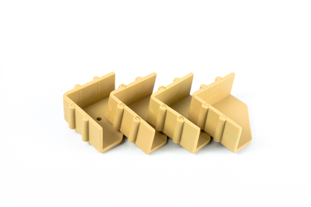 firmeza: Soporte de esquina de pl�stico utilizado para la fijaci�n de la madera juntos. Montaje de muebles para el caj�n de tableros de part�culas.