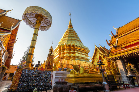 Wat Phra That Doi Suthep is a Theravada Buddhist temple (wat) in Chiang Mai Province, Thailand. The temple is often referred to as