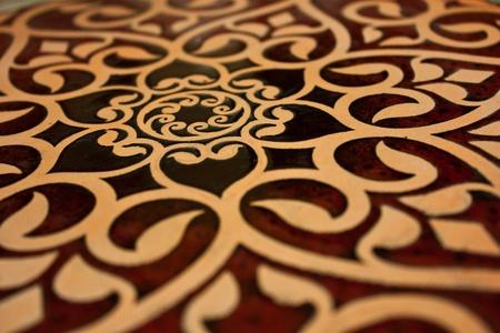 Thai Ceramic Art Stock Photo