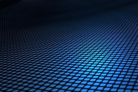 malla metalica: Gasa de fondo, azul. Foto de archivo