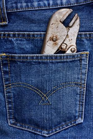 Pants pliers. photo