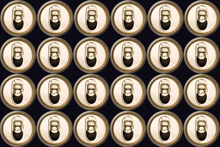 Canned Stockfoto