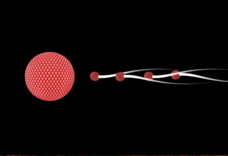 ovule: Graphic fertilization. Stock Photo