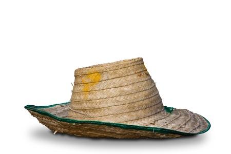 Woven hat. photo