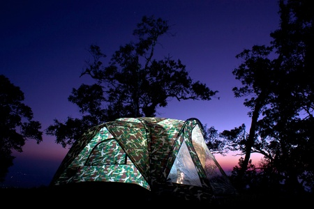 roughing: Tent