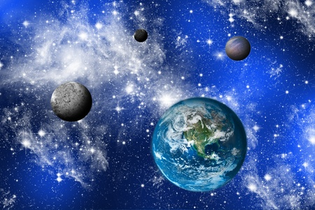 The stars. 免版税图像 - 11815045