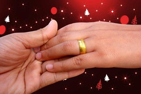 Hand ring photo