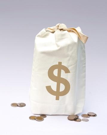 Bags of money  photo