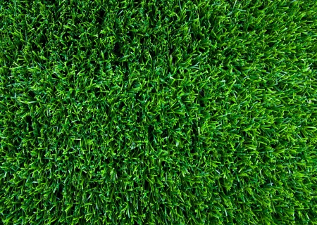 Artificial turf taken from the top. Stock Photo