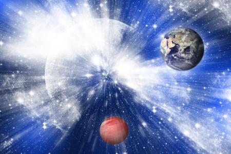 Universum Standard-Bild